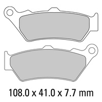 FERODO BRAKE DISC PAD SET - FDB2006 P PLATINUM COMPOUND
