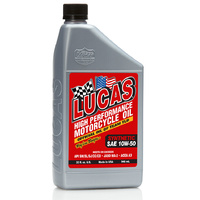 10W-50 HIGH PERFORMANCE MOTORCYCLE OIL  946ml