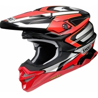 SHOEI VFX-WR BRAYTON TC-1 RED
