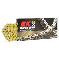 EK 520 QX-RING CHAIN YELLOW 120L