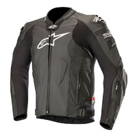 ALPINESTARS MISSILE TECH AIR PERFORATED LEATHER JACKET BLACK