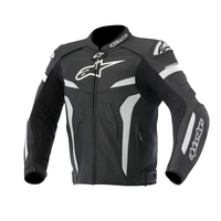 ALPINESTARS CELER LEATHER JACKET BLK/WHT
