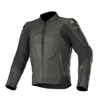 ALPINESTARS CALIBER LEATHER JACKET BLACK