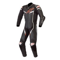 ALPINESTARS GP PRO V2 SUIT TECH-AIR COMPATIBLE BLACK WHITE