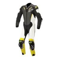 ALPINESTARS ATEM V3 SUIT BLACK WHITE FLURO YELLOW