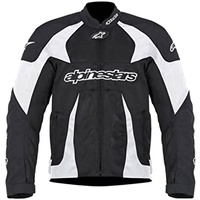 ALPINESTARS GP-R AIR FLOW JACKET BLACK/WHITE