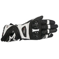 ALPINESTARS SUPERTECH GLOVES BLACK WHITE