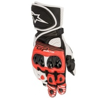 ALIPNESTARS GP PLUS R2 GLOVE BLK/WHT/RED