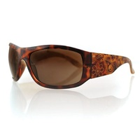 BOBSTER VIXEN HIGHWAY HONEY TORTOISE FRAME LASER PAISLEY