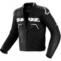 SPIDI EVO RIDER LADIES JACKET BLACK WHITE