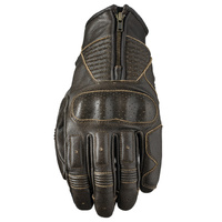 FIVE KANSAS LEATHER GLOVE BROWN