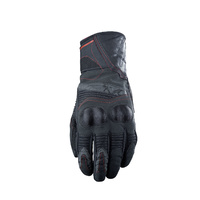 FIVE WFX2 WATERPROOF MENS GLOVES BLK/RED