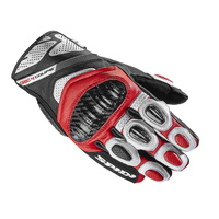 SPIDI CARBO 4 COUPE BLACK WHITE RED GLOVE