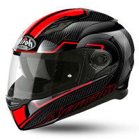 AIROH MOVEMENT FASTER RED/BLACK HELMET