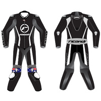 RICONDI RACING SERIES SUIT BLACK WHITE