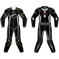 RICONDI RACING SERIES SUIT TALL - BLACK/WHITE