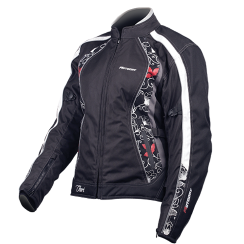 MOTODRY CHERI LADY RED LEAF JACKET 20