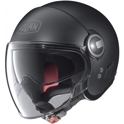 N-21V (WITH EXTERNAL VISOR) FLAT BLACK 10 XL